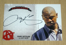 2015 Cryptozoic SONS of ANARCHY season 4/5 autograph Tory Kittles LAROY WAYNE TK