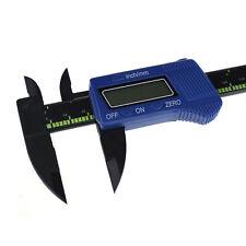 150mm/15.2cm LCD Electrónico Digital Fibra De Carbono Calibrador A Vernier