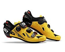 SIDI Ergo 4 Carbon Road Cycling Shoes - Yellow/Black