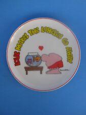 "1983 ""Love Makes The Lonelies Go Away"" Goldfish/ Hart- Ziggy Plate Tom Wilson"