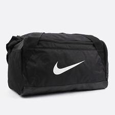 Nike BRASILIA 6 SMALL DUFFEL BAG Shoulder Belt Black Gym Bag BA5335-010