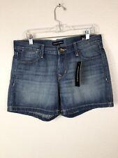George & Martha Denim Shorts Size 36 Blue NWT