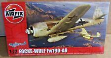 AIRFIX FOCKE-WULF FW190-A8 1:72 SCALE MODEL KIT WW2 GERMAN FIGHTER AIRCRAFT