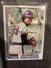 1982 Topps #500 Rod Carew California Angels Baseball Card