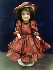Vintage Porcelain Doll Marked SFBJ 236 PARIS Signed Mary Ann Litz 1979, S.F.B.J.