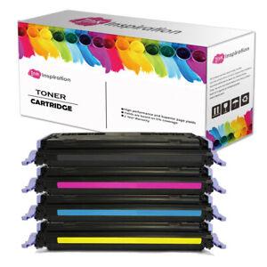 4X Toner unbrand fits For HP Q6000A Colour LaserJet 2600n 2605dn 1600