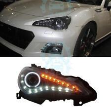 LED Angel Eye Headlight Daytime Running Light Fit For Subaru BRZ 2013-2015
