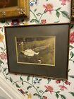 """Vintage ANDREW WYETH """"The Berry Picker"""" Art Print Framed And Matted"""