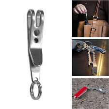 EDC Bag Suspension Clip Keychain Clip Carabiner Stainless Steel Quicklink Tool