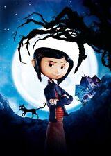 Coraline Movie Poster 11x17 Mini Poster textless 11x17 Mini Poster