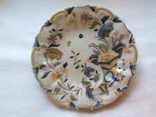 Antique Rouen French Faience Cornucopia Wall Plate c.1800's, ff480  GIFT QUALITY