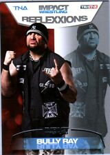 TNA Bully Ray #12 2012 Reflexxions SILVER Parallel Card SN 13 of 40