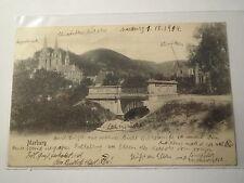 Marburg - Wingolf - 1904 - Lahnbrücke / Kliniken / Kirche ... / Studentika