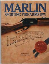 1975 Marlin Sporting Firearmes  Catalog