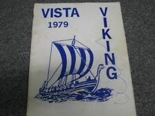 Viking 1979 Vista Middle School Ferndale Washington Yearbook