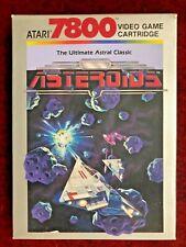 Atari 7800: Asteroids - New   NIB