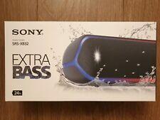 Sony Srs-XB32 Powerful Portable Waterproof Wireless Speaker w/ Extra Bass Black