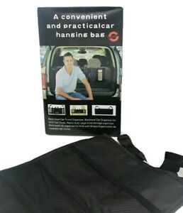 Car Boot Organiser Accesories Hanger Bag Vehicle Boot, Back Seat - Tidy Pouches