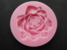SILICONA ROSA Molde decoración tartas Flor CHOCOLATE Horneado BODA BAUTIZO