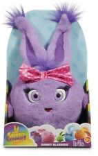 Sunny Bunnies Bunny Blabbers Talking Plush IRIS Purple NEW