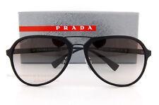 Brand New Prada Sport Sunglasses PS 05RS DG0 0A7 Matte Black/Gray Gradient Men