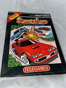 Atari 2600 TelegameVCS Original Bump N Jump Open Box Cartridge Video Game 1982