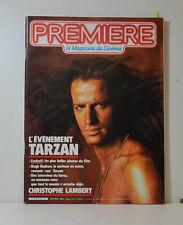 PREMIÈRE LE MAGAZINE 3/80 BELMONDO - YVES ROBERT - CHRISTOPHER LAMBERT (P17)