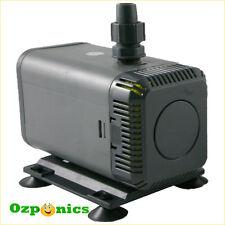 22W Submersible Water Pump 1200L/H For Hydroponics Aquarium Irrigation