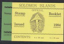 Solomon Islands 1984/1992 Booklets x 2 SGSB6/SB8 Mint J1898