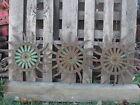 (3) JD Rotary Hoe Wheel Sunflower Yard Garden Wall Art Decor SteamPunk 19