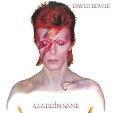 David Bowie Framed Canvas Print Aladdin Sane 40 X 40 Cm DC95635C