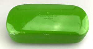 Kate Spade Sunglasses Case Only Green Hardcase Clamshell Large