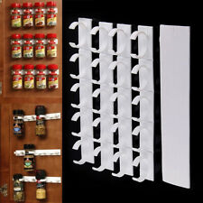 20 Spice Gripper Racks Strips Cabinet Door Clips Inside Kitchen Jars Holder