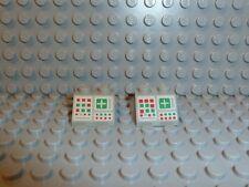 LEGO® Space Classic 2x Computer 2x2 grau für z.B. 928 894 897 6950 3039 K92