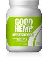 Bon Chanvre Poudre de Protéine 500 g NATUREL (Pack de 2)