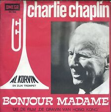 7inch AL KORVIN - CHARLIE CHAPLIN this is my song HOLLAND OMEGA REC 60'S EX +PS