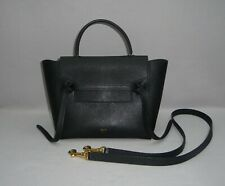Celine Paris Micro BELT BAG BORSETTA NERO/ORO 180153zva