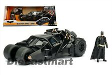 JADA 1:24 THE DARK KNIGHT BATMOBILE W/ DIECAST BATMAN FIGURE 98261 DC COMICS