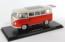 BLITZ VERSAND Volkswagen VW T1 Bus 1963 Bulli Welly Modell Auto 1:18 NEU OVP