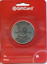 TWO (2) TARGET SILVER  COIN SPECIAL LIMITED EDTION GIFT CARD  SOLD OUT