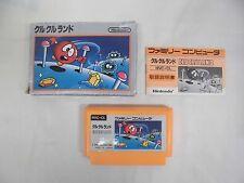CLU CLU LAND -- Boxed. Famicom, NES. Japan game. Work fully.