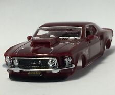 New RRR Boss 429 Mustang Body, Royal Maroon, Fits TJet, Dash, AW