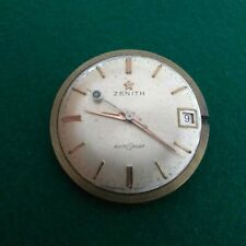 ZENITH VINTAGE AUTOMATIC CAL 2532pc WATCH MOVEMENT AUTOSPORT DIAL 29mm WORKING