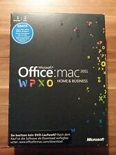 Microsoft MAC Office 2011 Home and Business  Vollversion /DVD /deutsch W6F-00030