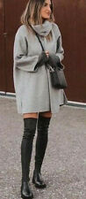 ZARA Wool Blend Coat With Detachable Scarf Size XS. Gray. NEW