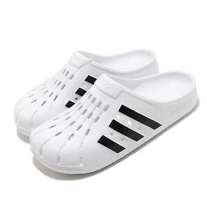 adidas Adilette Clog White Black Men Women Unisex Sandals Slides Slippers FY8970