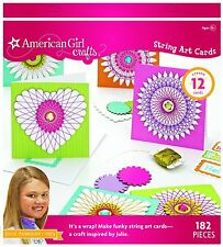 American Girl Crafts Art Kit, Julie Albright String Cards , New, Free Shipping