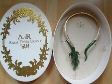 Collier Anna Dello Russo x H&M crocodile necklace NEW