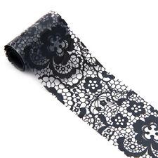 Nail Art Transfer Foil Nail Sticker Polish Decal Tip Decoration Easy DIY E110