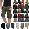 Men Combat Army Military Cargo Shorts Summer Casual Work Pockets Short Pant Camo